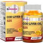 StBotanica COD Liver Oil 525-90 Softgels