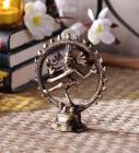 Brown Brass Natraj Idol by Handecor