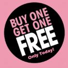 Buy 1 Get 1 Free & Buy 2 Get 1 Free On Customized Products