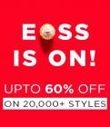 End Of Season Sale Upto 60% Off + Extra 200 Off