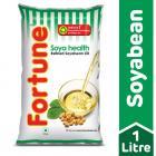 Fortune Soyabean Oil, 1L Pouch
