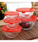 Roxx Long Champ Bowl Red Set