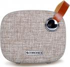 Zebronics Zeb-Knight Fabric Finish Portable BT Speaker with mSD, USB, FM, AUX, Mic & Fabric Finish (Brown)