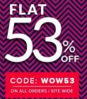 Flat 53% off on All Orders