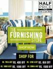 Flat 50% off on furnishing