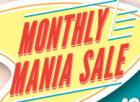 December : Monthly Mania Sale