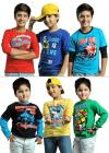 Pack Of 6 Cool Full Sleeve T-shirt By Eteenz