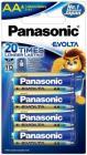 Panasonic LR6EGDG/4B Battery  (Pack of 4)