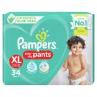 Pampers Diapers Pants, Extra Large, 34 Count