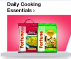 Daily Cooking Essentials with 25% cashback