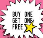 Buy one get one free on Lingerie