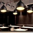 Brightlyt Single Head Vintage Black aluminium Hanging Light Industrial Retro Country , Dining Hall Restaurant Bar Cafe Lighting_Pack of 3 Pcs Pendants Ceiling Lamp