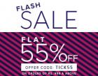Flat 55% off on Rs. 999 & above