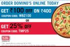 Rs. 100 off on Rs. 400